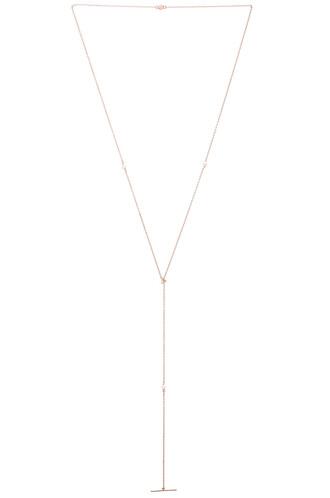 necklace metallic copper jewels