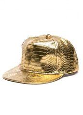 hat,gold,crocodile