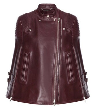 cape leather red top