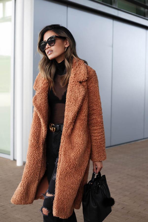Fuzzy Sweater Dress