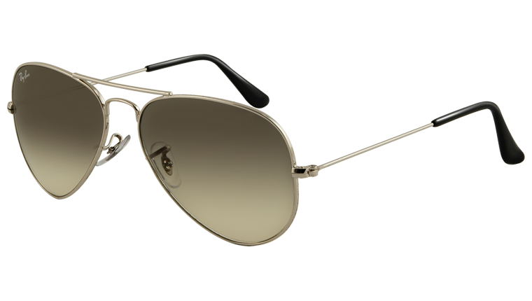 official ray ban  ray ban sunglasses collection sun rb3025 003/32 aviator large metal