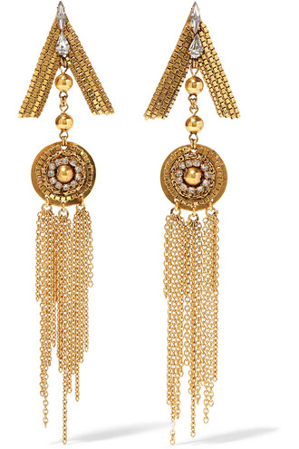 crystal earrings earrings gold jewels