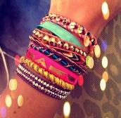 jewels,hipanema,brazilian,bracelets,wrap bracelet