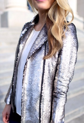 jacket silver sequin blazer silver blazer silver sequin jacket sequin jacket