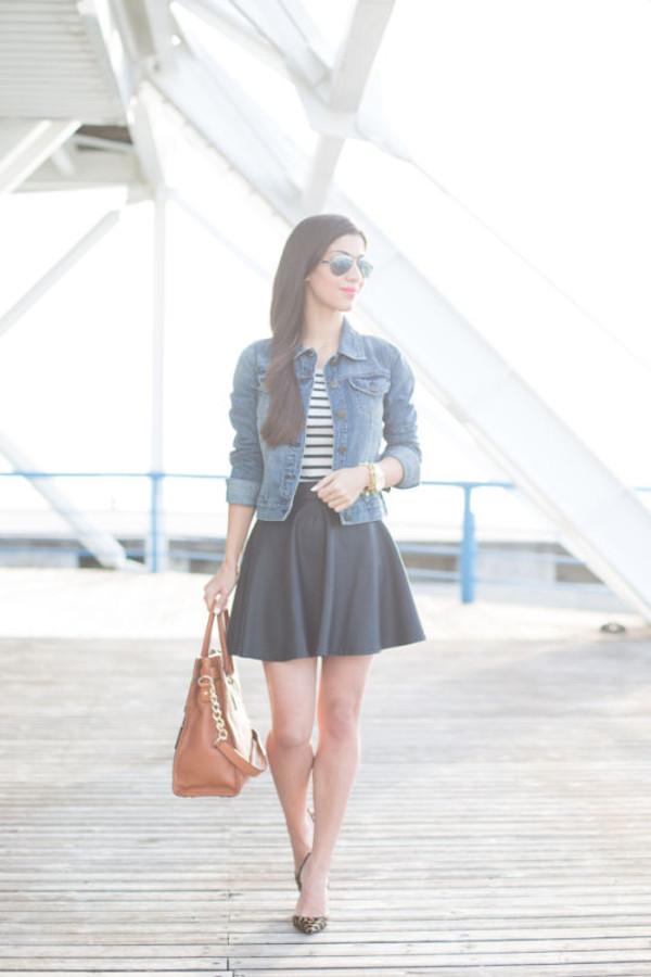blasfemmes jacket sweater skirt shoes bag jewels sunglasses