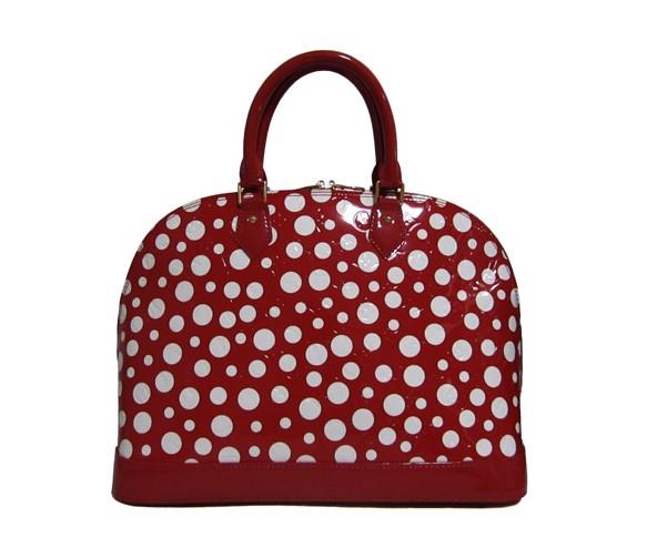 Louis Vuitton Monogram Vernis Yayoi Kusama Polka Dots Leather Alma MM - Red M93595_Louis Vuitton_Fashion Handbag_category_desigbrand - Powered by ECShop