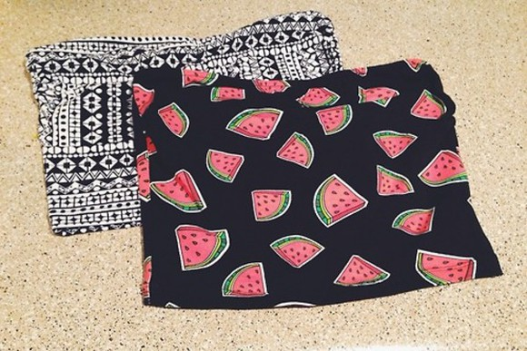 top bandeau summer watermelon