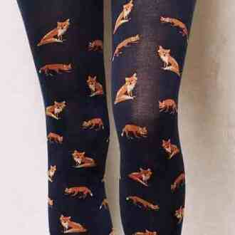 pants fox leggings what does the fox say black winter outfits tights indie