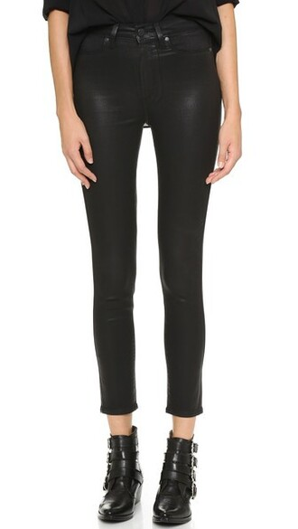 jeans skinny jeans black silk