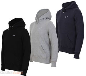 NEW! Nike Swoosh Hoodie Hooded Sweatshirt MEN Sizes Small