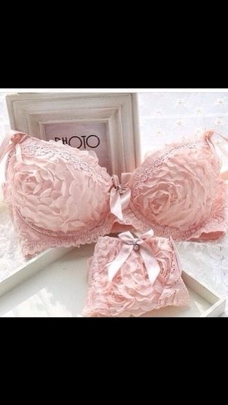 underwear pink underwear pink pink flower in love flowers flower flower underwear