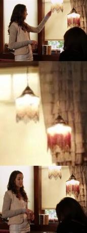 home decor,pretty little liars,lamp,cute,jewels