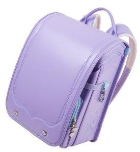 Amazon.com: Fuwarii Randoseru (Japanese Schoolbag) Violet /Skyblue: Baby