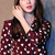 Clothing :: Blouses/Shirts :: Heart Printed Blouse -