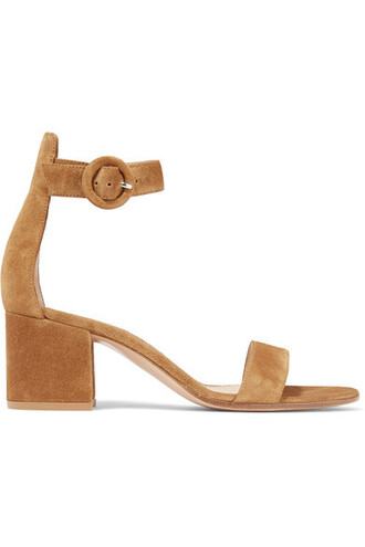 tan sandals suede shoes