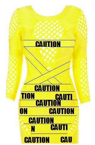 CAUTION Dress – Honestly Shut The Fuck Up