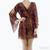 DV Dolce Vita Rexxy Python Print Dress / TheFashionMRKT