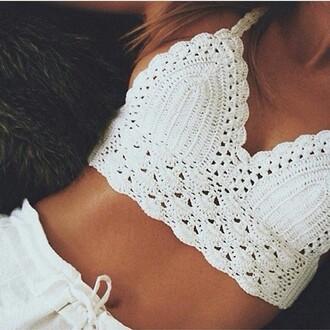 underwear top croctop freshtop freshtops swimwear swiwsuits t-shirt white white top white t-shirt white crop tops