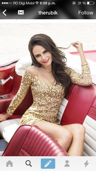 gold sparkle sparkle dress girl classy