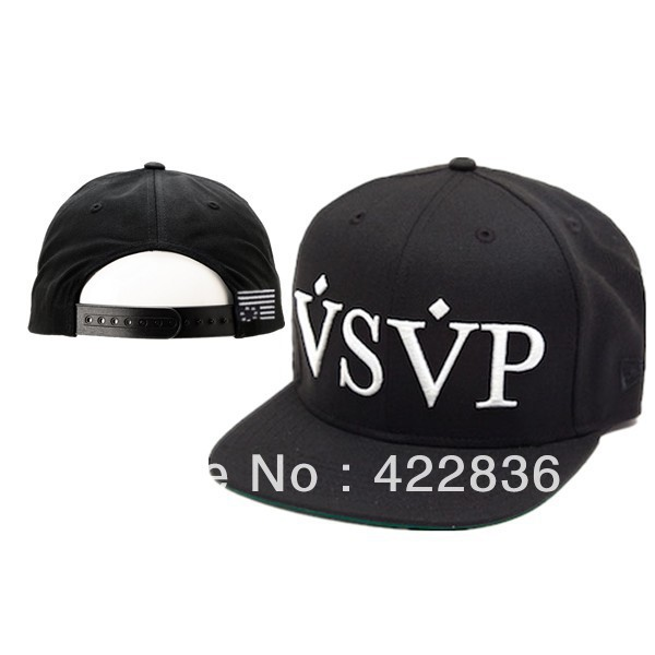 VSVP Snapback hats black men & women's baseball caps sun shading hat hot selling Free Shipping-in Baseball Caps from Apparel & Accessories on Aliexpress.com