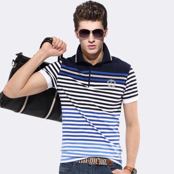 14b7c02a1c shirt, 24chinabuy, menswear, t-shirt, stripes, polo shirt, clothes ...
