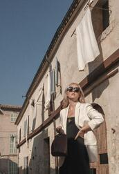 the limits of control,blogger,jacket,bag,blazer