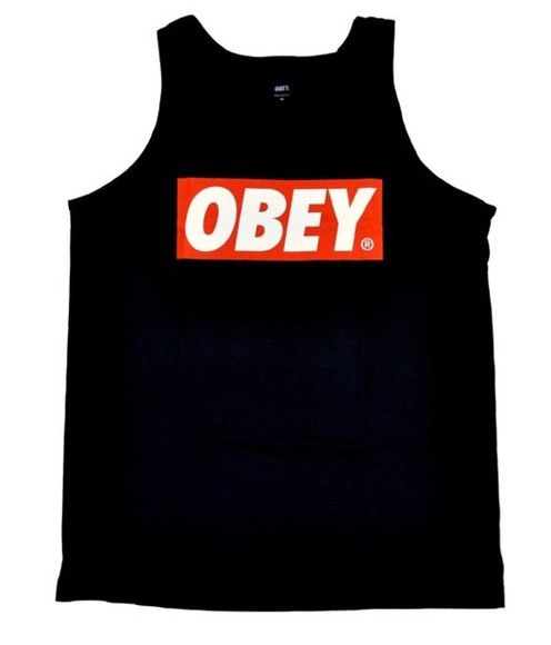 cloth tank top obey woman shirt
