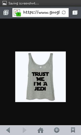 jedi grey shirt trust me im a jedi