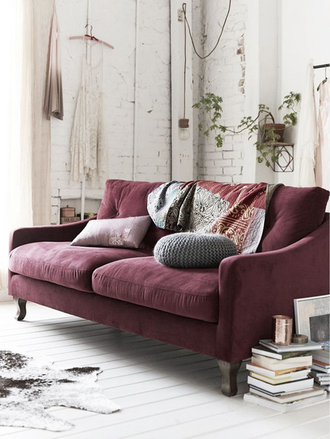home accessory sofa home decor marsala oxblood knitted pillow pillow hipster home furniture round pillow our favorite home decor 2015