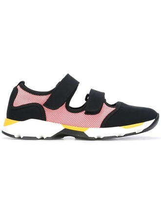 women sneakers black neoprene shoes