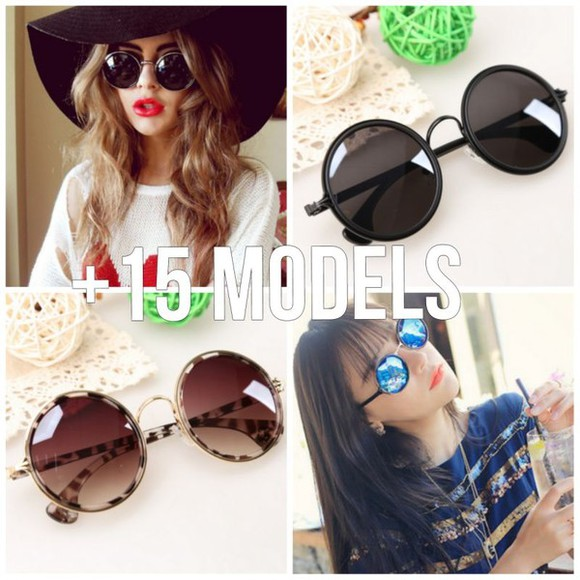 sunglasses round sunglasses mirror sunglasses