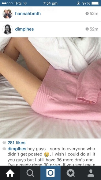 sweater pink pastel dress jumper dress oversized sweater oversized t-shirt style cute sweater pale pastel pink