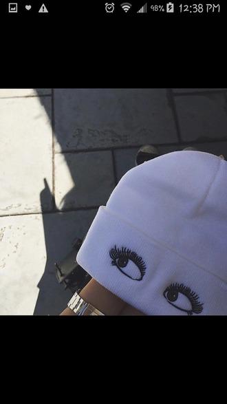hair accessory beanie hat hat beanie hair accessories white beanie