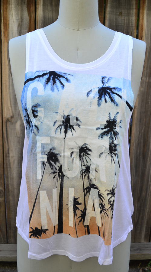 Tank Top California Trees