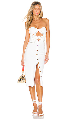 House of Harlow 1960 x REVOLVE Colette Dress in Ivory from Revolve.com