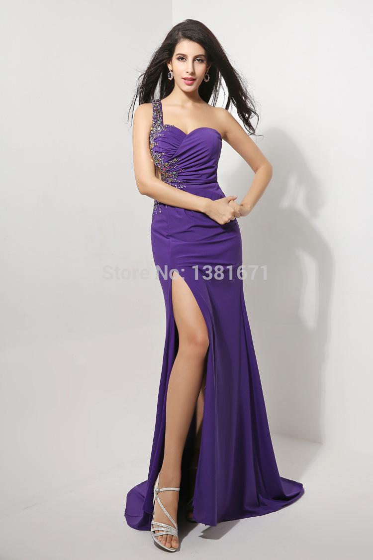 Aliexpress.com : Buy Free Shipping Cutout Backless Keyhole Beaded Side Design Sexy Slit Prom Dress 2014 from Reliable design extender suppliers on Aojia Top Evening Dress