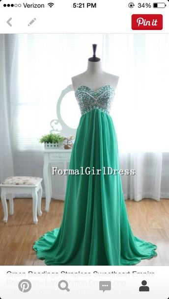 dress green dress sparkly dress dress