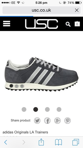 shoes grey adidas trainers
