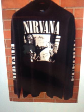 sweater nirvana sweatshirt