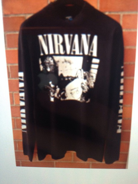 sweater nirvana sweatshirt