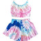 Cotton candy tie-dye two-piece – dream closet couture