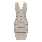 herve leger,bandage dress,silver dress,bodycon dress,sexy dress,herjunction.com,celebrity style,celebboutique.com,hot dress,hot dresses,fashion,blogger,dress