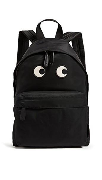 Anya Hindmarch eyes backpack black bag