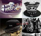 hat,snapback,cap,spikes,spiked snapback,trendy,fashion,clothes,mouth,spiked teeth,black cap,black snapback,nice,cool