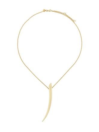 metallic women necklace pendant gold yellow jewels