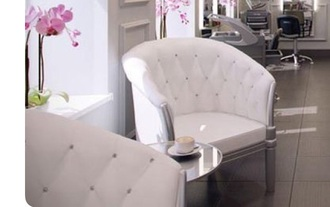 home accessory chair turfed white salon beautiful furniture