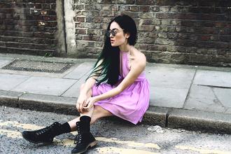 alessandra kamaile blogger dress shoes sunglasses