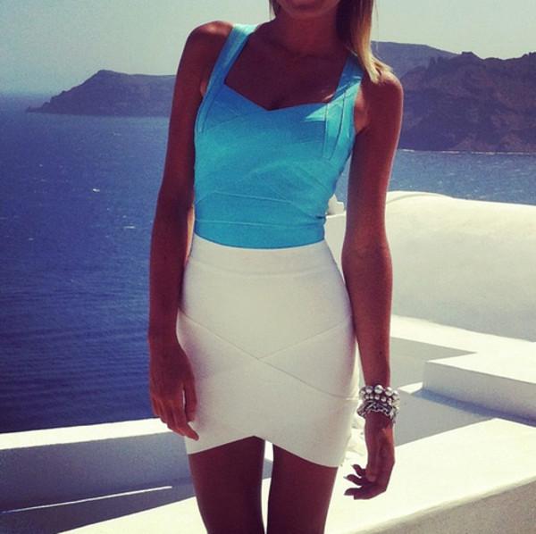 dress bodycon white dress summer dress bodycon dress