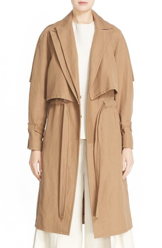 coat camel trench coat long trench