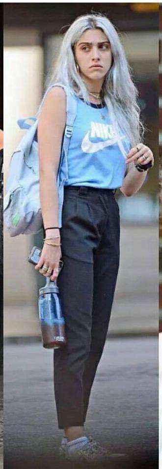 pants 90s style style lourdes leon love